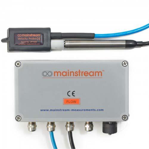 Апаратура за измерване на разход за безнапорни течения